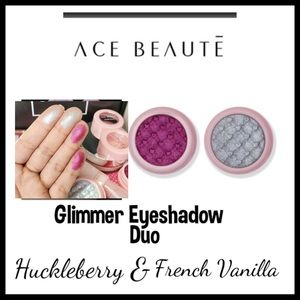 ACE BEAUTE  GLIMMER SHADOW DOU.   NEW